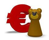 euro and bear