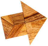 tangram arrow