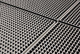 metal grid backgound
