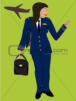 black woman pilot
