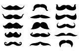 Man moustaches