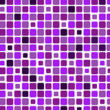 Mosaic with square violet background
