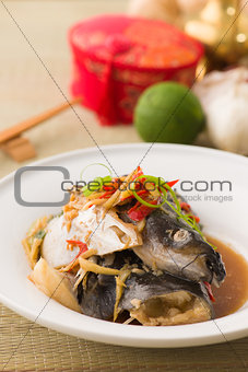 fish head chinese foods