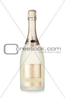 Champagne brut bottle