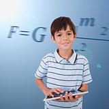 Pupil with tablet pc