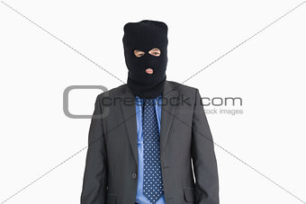 Businessman as a thief