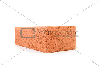 Red construction brick
