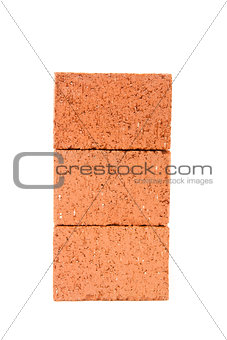Carefully stacked bricks