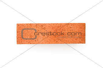 Clay red brick