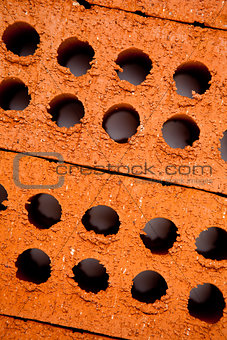 Close up of bricks