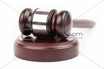 Gavel and hammer