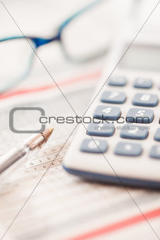 Calculator and maths tables