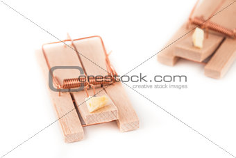 Pair of mousetraps