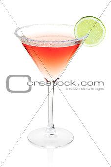 Cosmopolitan alcohol cocktail