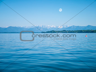 Alps at Lake Starnberg - Tutzing