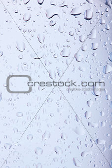 Background with water drops