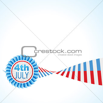 american flag vector design