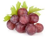 Fresh ripe red grapes
