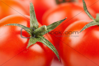 Fresh Cherry Tomatoes macro