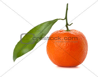 A ripe tangeringe