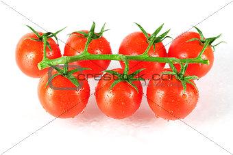 Fresh cherry tomatos
