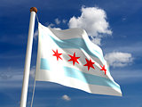 Chicago flag USA