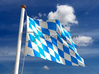 Bavaria flag Germany