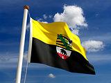 Saxony Anhalt flag Germany