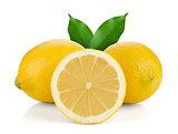 Two and half ripe lemons
