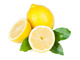 Fresh juicy lemons