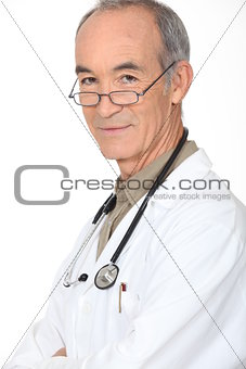 Portrait of an experienced doctor