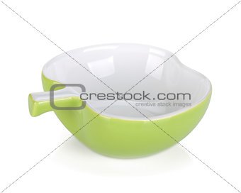 Apple shaped bowl
