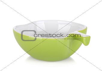 Apple shaped bowl