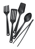 Plastic kitchen utensils