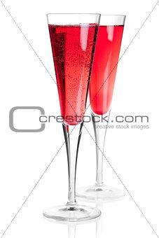 Kir royal alcohol cocktail