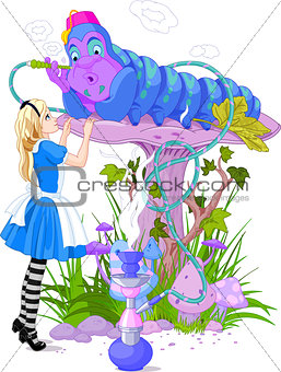 Alice and Blue Caterpillar