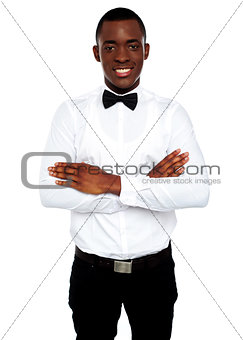 Portrait of young african guy