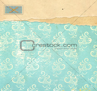 Background in vintage style
