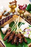 Satay Malay food
