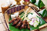 Satay Indonesia food