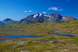 Lofoten mountains