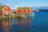 Norwegian fishing houses