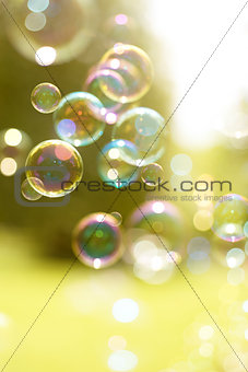 Floating Summer Bubbles