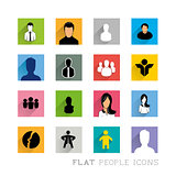 Flat Icons People Designs