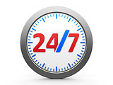 Round-the-clock service icon