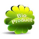 Bio product - green label