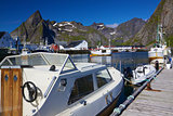 Harbor on Lofoten