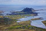 Norwegian fishing port
