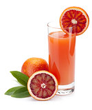 Red orange juice