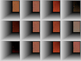 abstract set, collection of doors